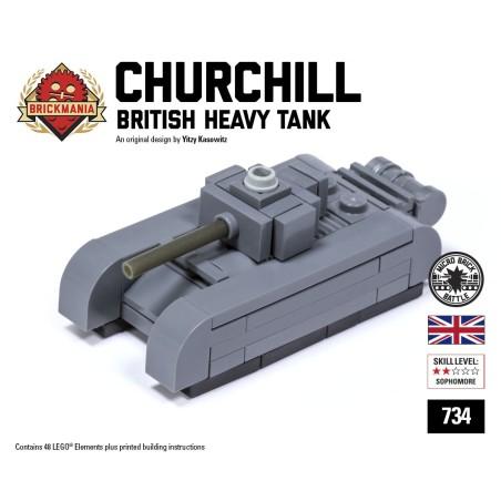 Churchill Tank - Micro-tank