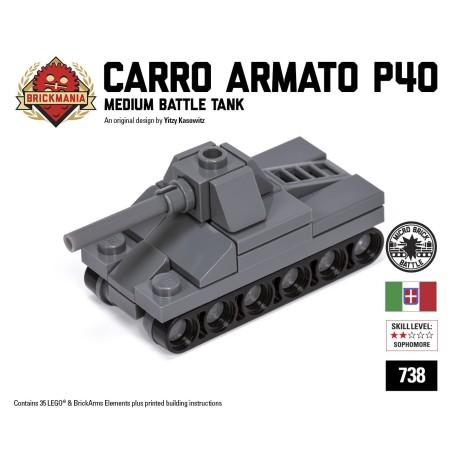 Carro Armato P40 - Micro-tank