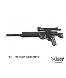 PSR Sniper Rifle with ammo, mono- and bi pod