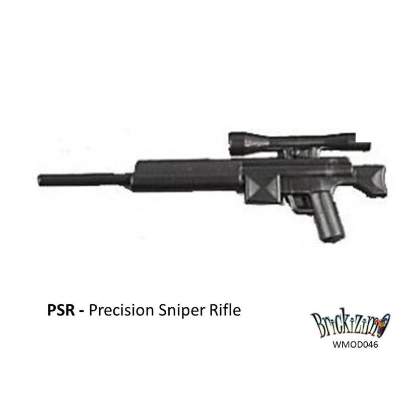 PSR Scherpschutter geweer met ammo, mono- en bi pod
