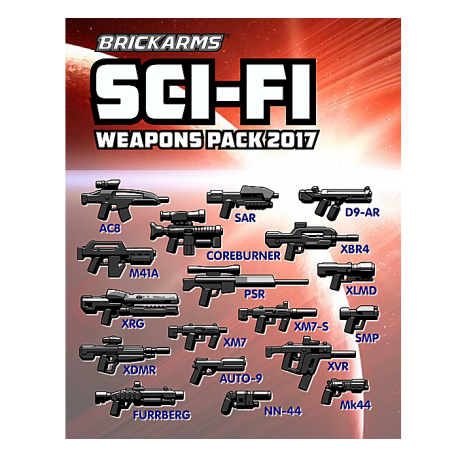 BrickArms SciFi-Pack 2017