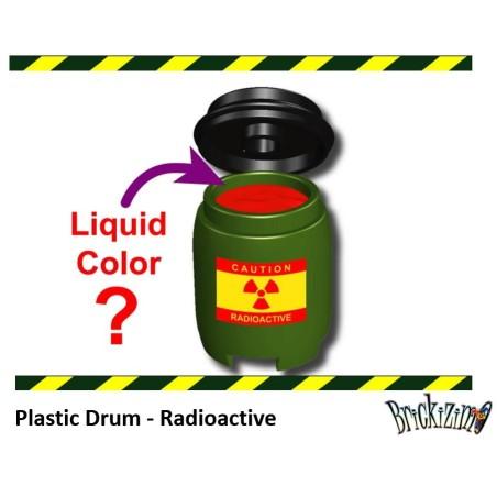 Plastic Drum - Radioactief