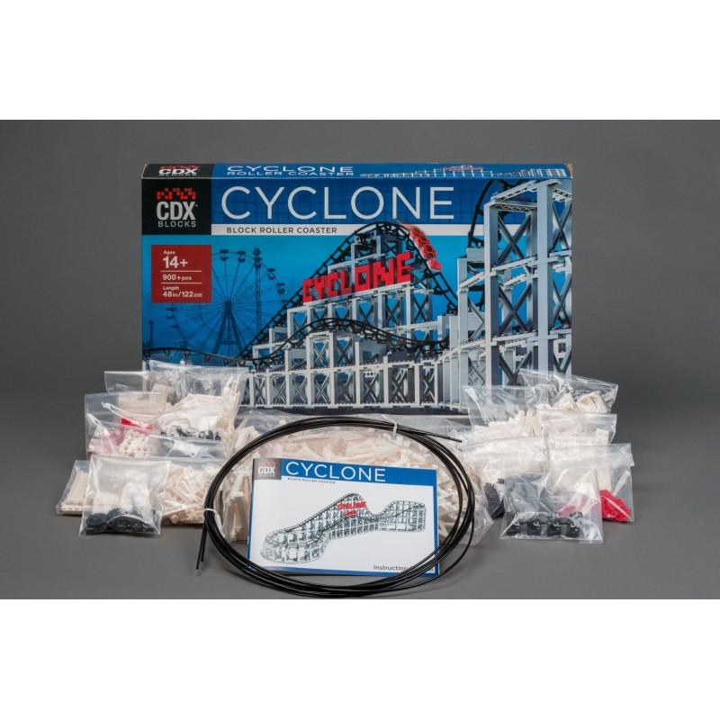 Cyclone Achterbahn