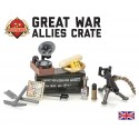 Great War Allies Crate met Vickers Machine Geweer