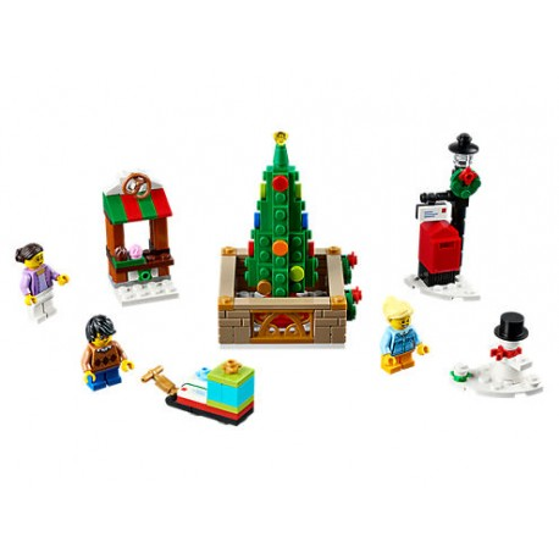LEGO ® Kerstmis dorpsplein