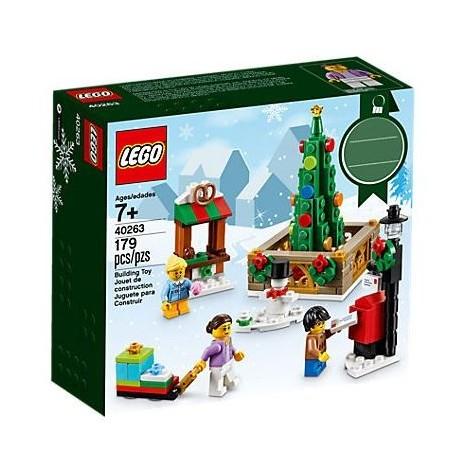 LEGO ® Kerstmis dorpsplein - 40263