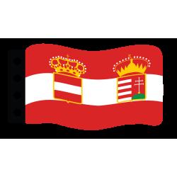 1. Welt Krieg Flage : Österreich-Ungarn