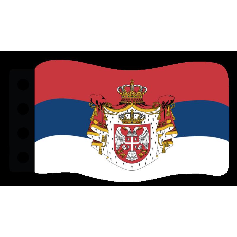 World War I Flag : Serbia