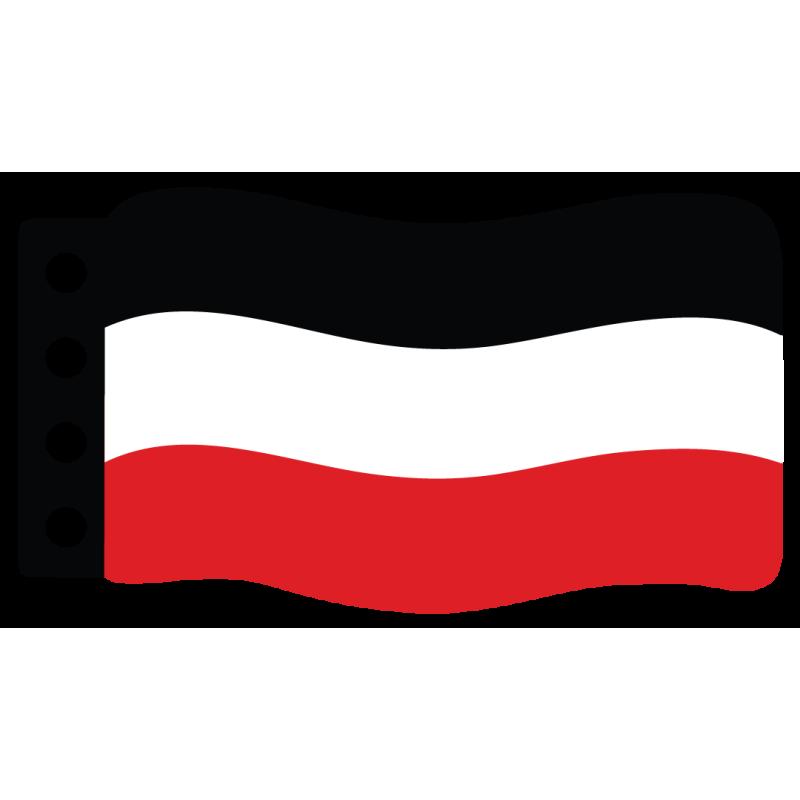 1e Wereld Oorlog Vlag: Duitsland