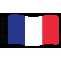 Flage : Frankreich