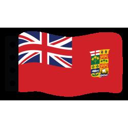 Vlag: Canada (Red Ensign)