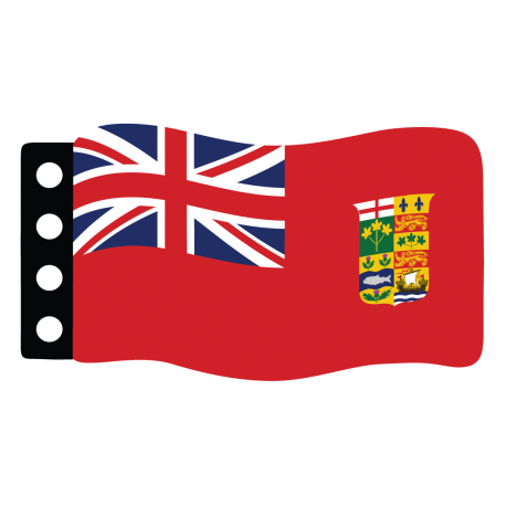 Vlag: Canada (Red Ensign)