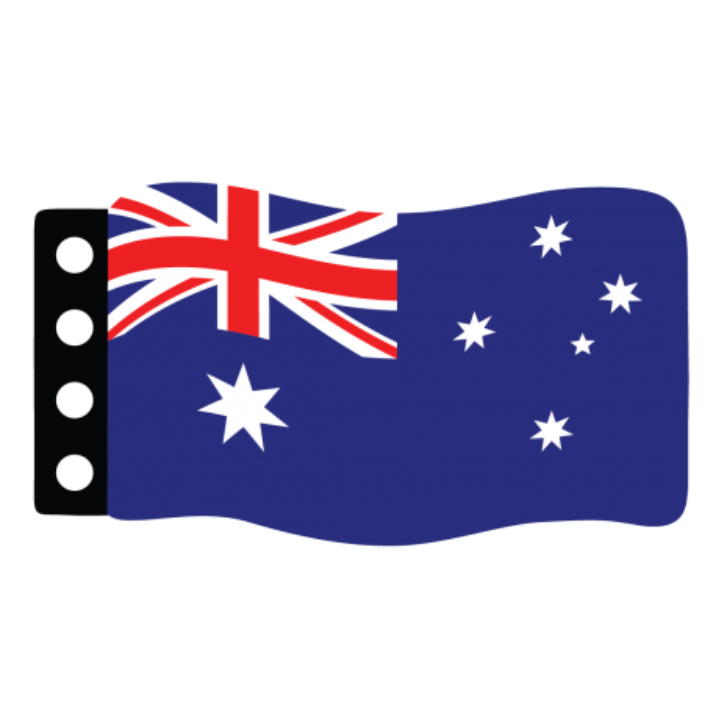 Flage : Australien
