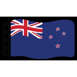 Flag : New Zealand