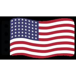 Flag : USA (48 Stars)