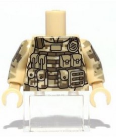 Citizen Brick - ACU Camo Torso