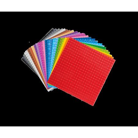 20x20 Grundplatte Transparant