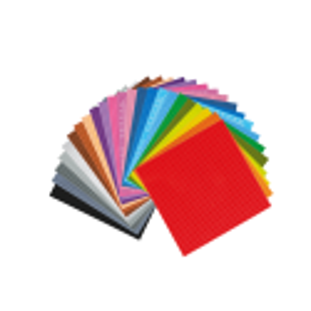 32x32 Grundplatte Transparant
