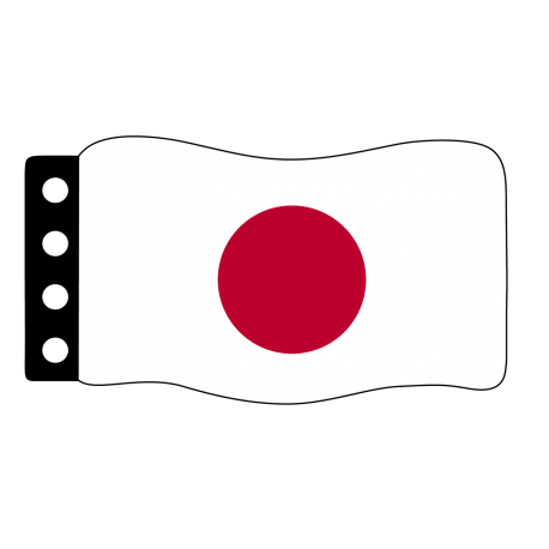 Flag : Japan