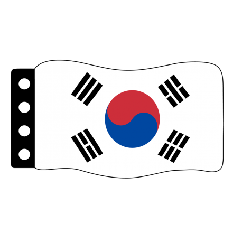 Vlag: Zuid Korea