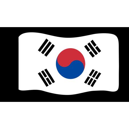 Flage : Südkorea