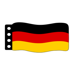 Vlag: Duitsland (Modern)