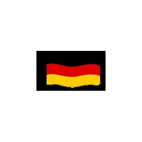 Flage : Deutschland (Modern)