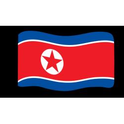 Vlag: Noord Korea