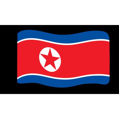 Flage : Nordkorea