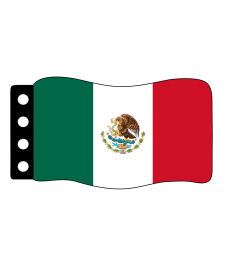Flage : Mexico