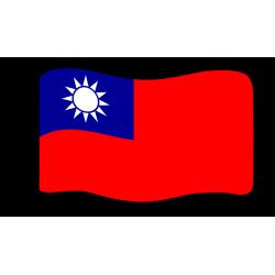 Flag : Taiwan
