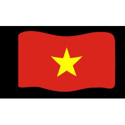 Flage : Vietnam