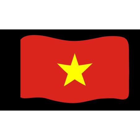 Flag : Vietnam