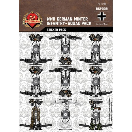 WW2 - Duitse Infanterie - Sticker Pack