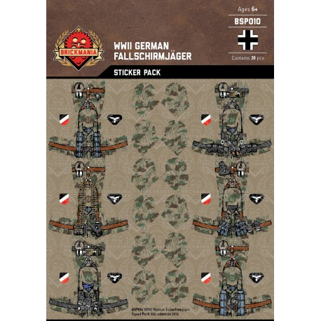 WW2 - German Winter Infantry - Sticker Pack