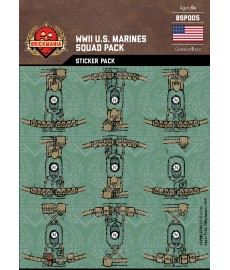 WW2 - U.S. Marines - Sticker Pack