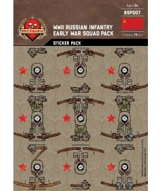 WW2 - Russian Infantry - Sticker Pack