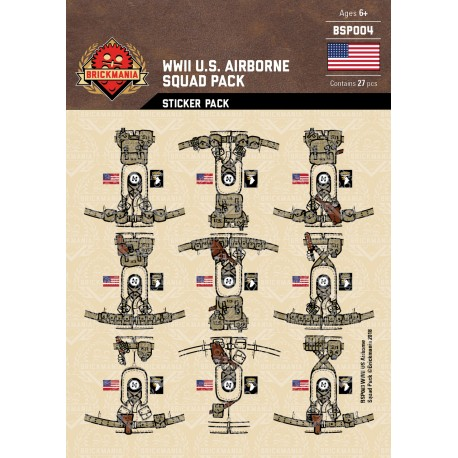 WK2 - U.S. Marines - Sticker Pack