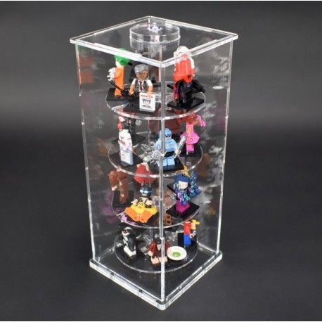 FiguTower® showcase for 20 MiniFigs