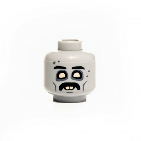 Citizen Brick - Mustache Zombie Head