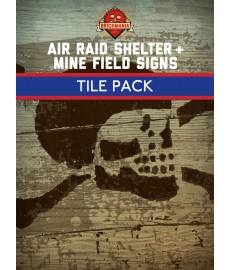 Air Raid Shelter & Mine Field Fliesen Set