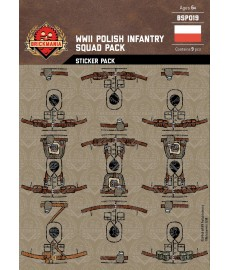 WW2 - Polish Infantry - Sticker Pack