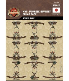 WW2 - Japanese Infantry - Sticker Pack