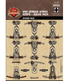 WW2 -German Afrika- Sticker Pack