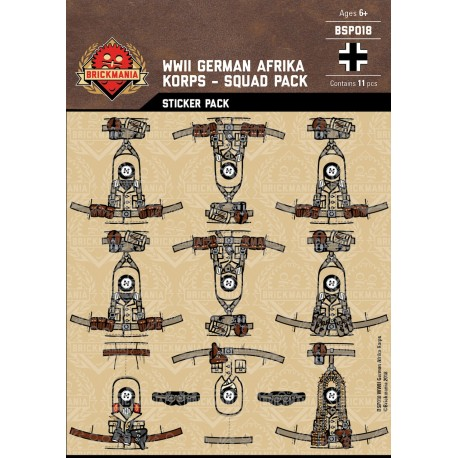 WW2 - German Afrika - Sticker Pack