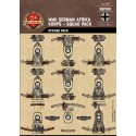WW2 - German Afrika Korps Sticker Pack