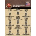 WW2 US Machine Gun Section Pack - Sticker Pack