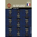 WW1 - French Infantry Early War- Sticker Pack