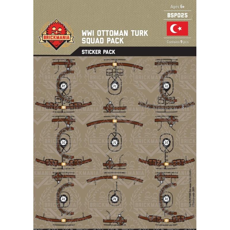 WW1 -Ottoman Turk - Sticker Pack