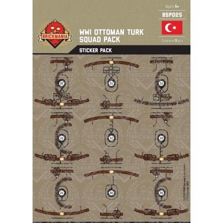 WW1 - Ottoman Turk - Sticker Pack